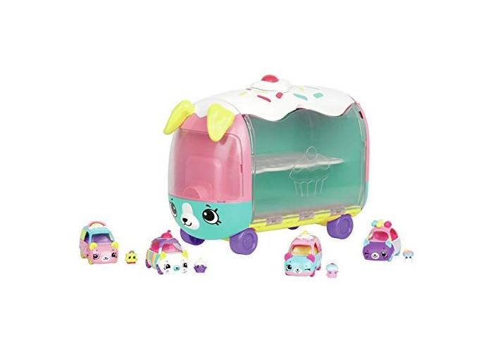 Shopkin Cutie Cars Collectors Rainbow Cake Cupcake Van - 1