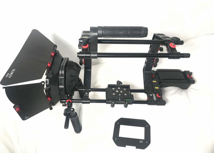 Shoulder Mount/Matte Box for up to 7kg Camera rig - 1