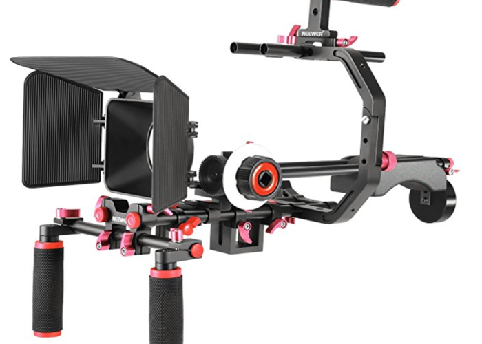shoulder rig NEEWER (with follow focus, cage) - 1