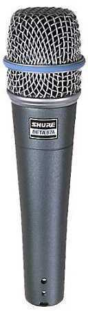 Shure Beta 57a Dynamic Instrument Microphone - 1