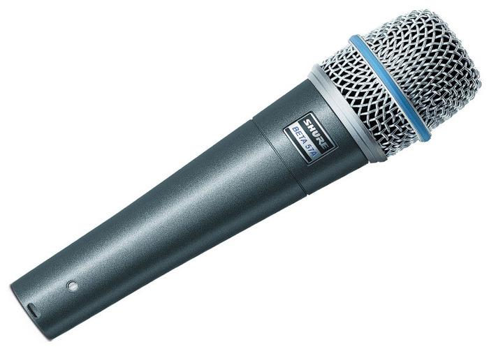 Microphone, Shure Beta 57A Dynamic - 1