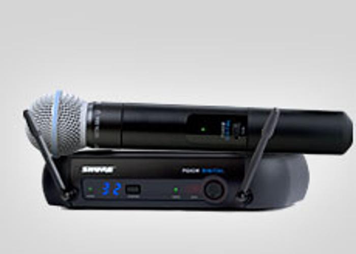 Shure Beta58 Wireless Microphone - 1