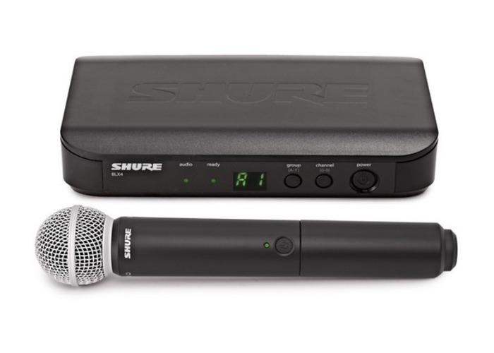 Shure BLX24E/SM58-S8  Microphone System - 1