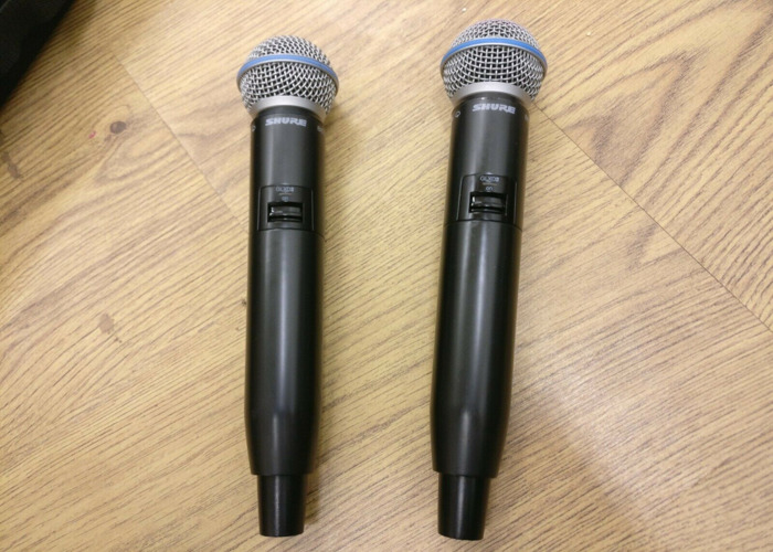Shure GLXD Beta58 wireless hand held mic - 1