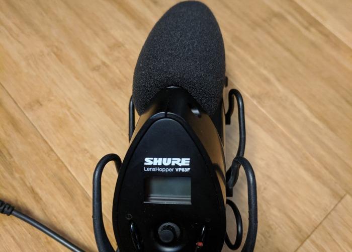 Shure Lenshopper VP83F DSLR microphone Condenser recorder - 2