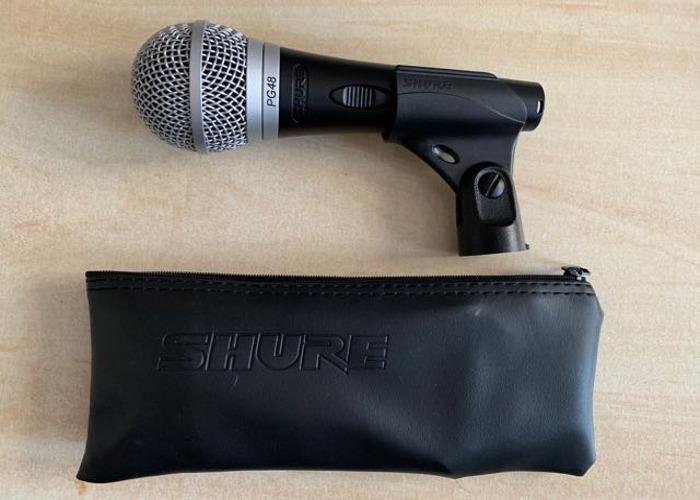 Shure PG48 Dynamic Microphone - 1