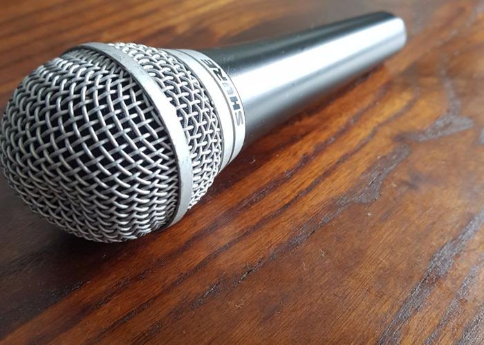 Shure PG48 Dynamic Microphone Mic  - 2