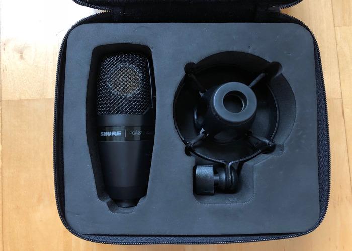 Shure PGA27 Large Diaphragm Condenser Microphone - 1