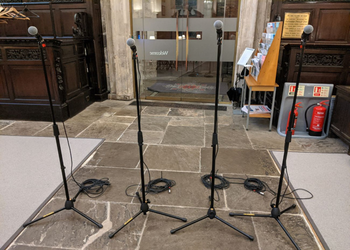 Shure SM58 (Individual) With stand and XLR cable - 2