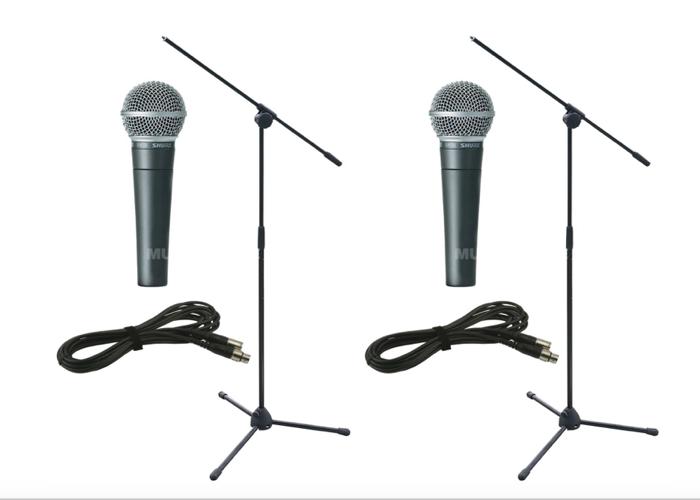 Shure SM58 dynamic microphone - 1