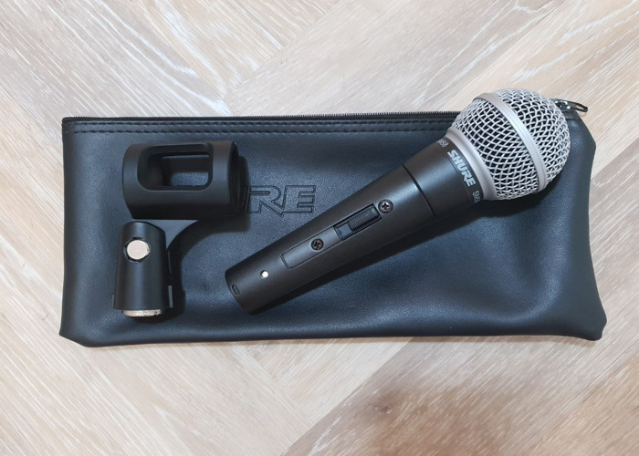 Shure SM58 Dynamic Microphone (with switch)  - 1