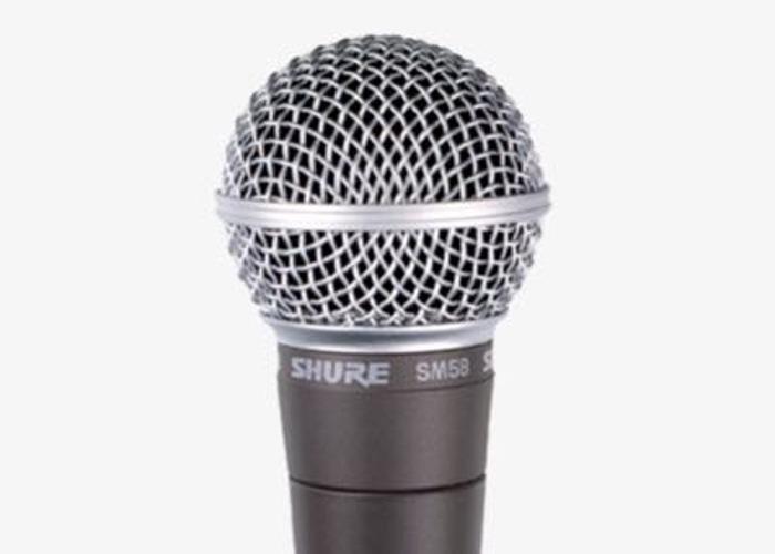 Shure SM58 dynamic vocal mic  - 1