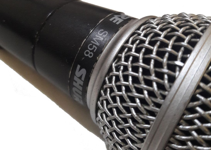 Shure SM58 Dynamic Vocal Microphone (inc. clip & XLR cable) - 2 of 3 - 1