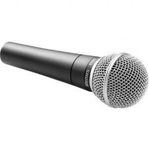 Shure SM58 Vocal Microphone - 2