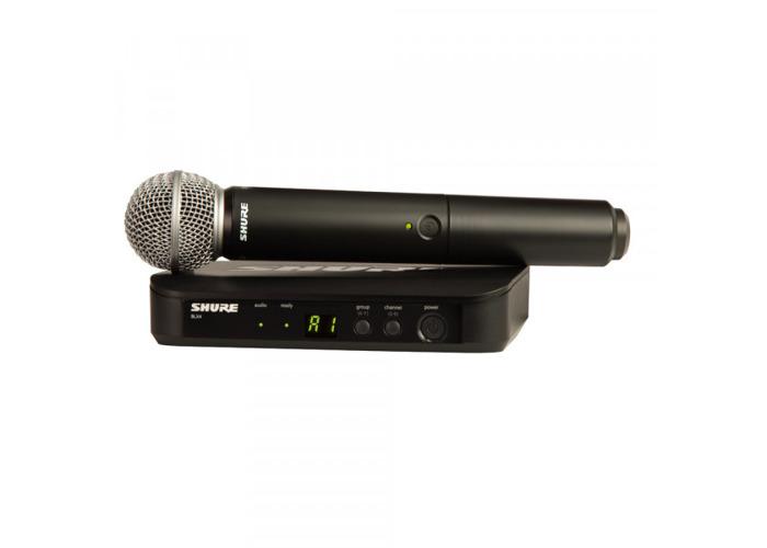 SHURE SM58 Wireless Analogue Vocal System (BLX24UK/SM58) - 1