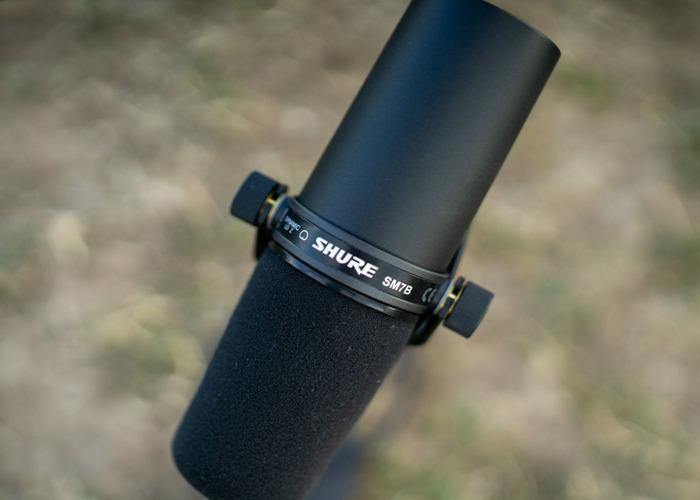 Shure sm7b microphone - 2