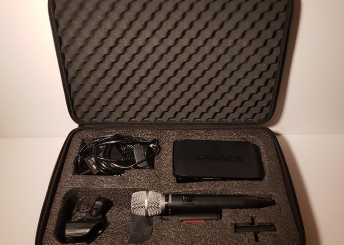 Shure SM86/GLXD4 Digital Wireless Condenser Microphone - 1