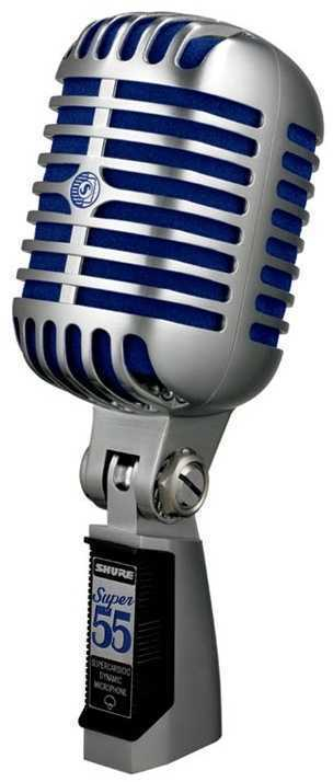 Shure Super 55 Retro Vocal Mic - 1