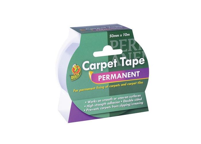 Shurtape 260507 Duck TapePermanent Carpet Tape 50mm x 10m - 1