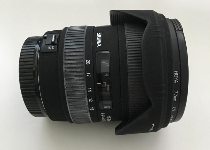 Sigma 10-20mm Canon Compatable - 1