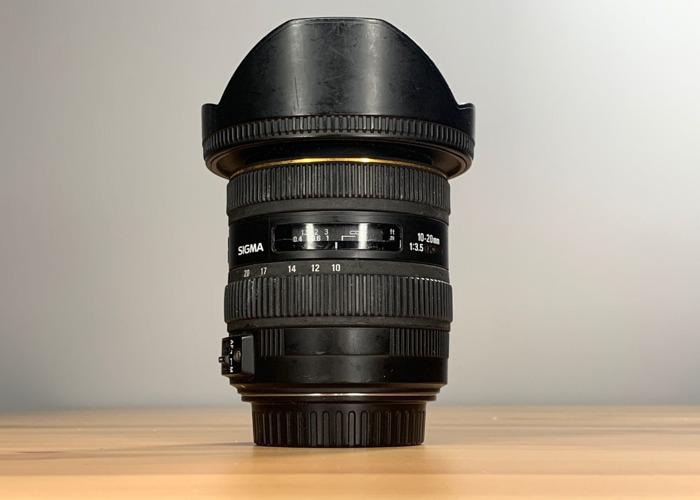 Sigma 10-20mm f3.5 APC EF Canon MountSi - 1