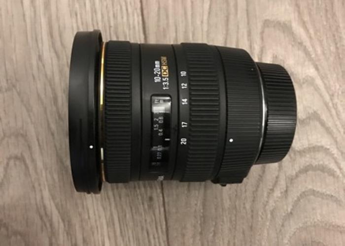 Sigma 10-20mm f3.5 EX DC HSM Lens for Nikon  - 1