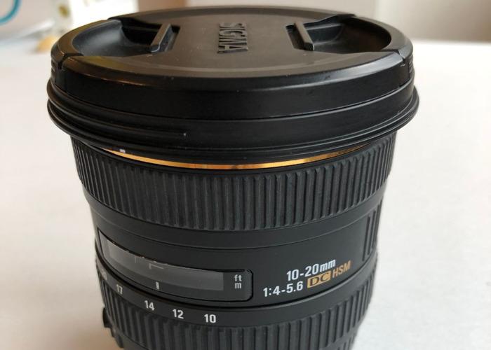 Sigma 10-20mm lense - 2