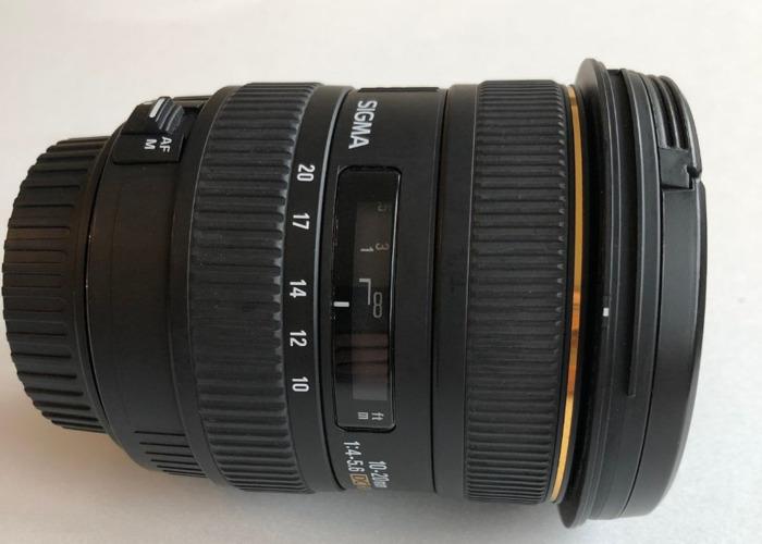 Sigma 10-20mm lense - 1