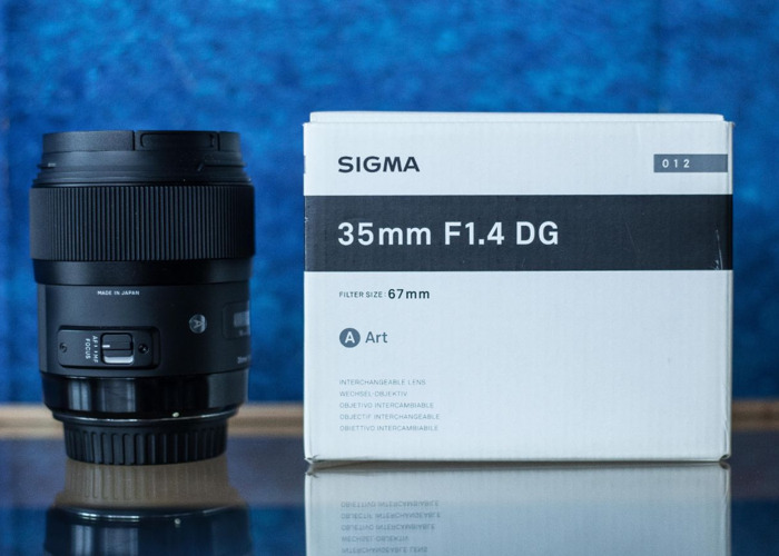 Sigma 1.4 Art Lens (Canon EF Fit) for Full-Frame CanonCamera - 1