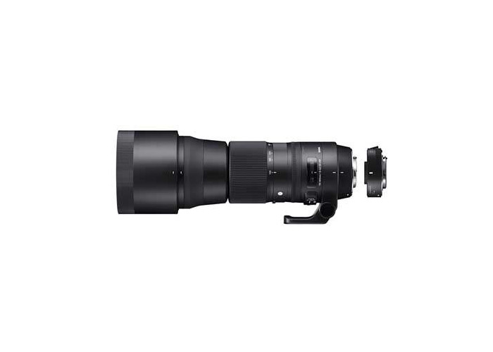 Sigma 150-600mm f5-6.3 Contemporary DG OS HSM Lens with 1.4x Teleconverter - Canon Fit - 1