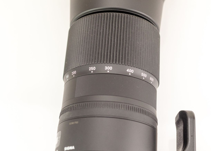 Sigma 150-600mm megazoom Nikon fit for FX & DX - 2