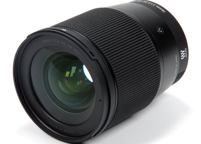 Sigma 16 mm F1.4 DC DN Contemporary Sony E Lens - 1