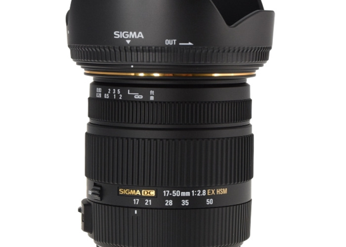 Sigma 17-50mm 2.8 for Canon - 1