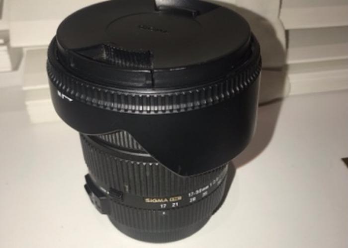 Sigma 17-50mm f2.8 - 1