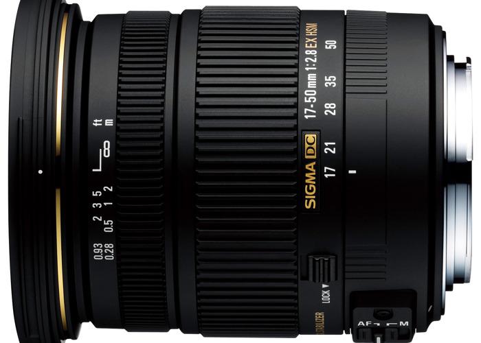 Sigma 17-50mm f/2.8 EX DC OS HSM - 1