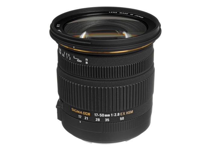 Sigma 17-50mm f/2.8 EX DC OS HSM Lens for Canon DSLR Cameras - 1