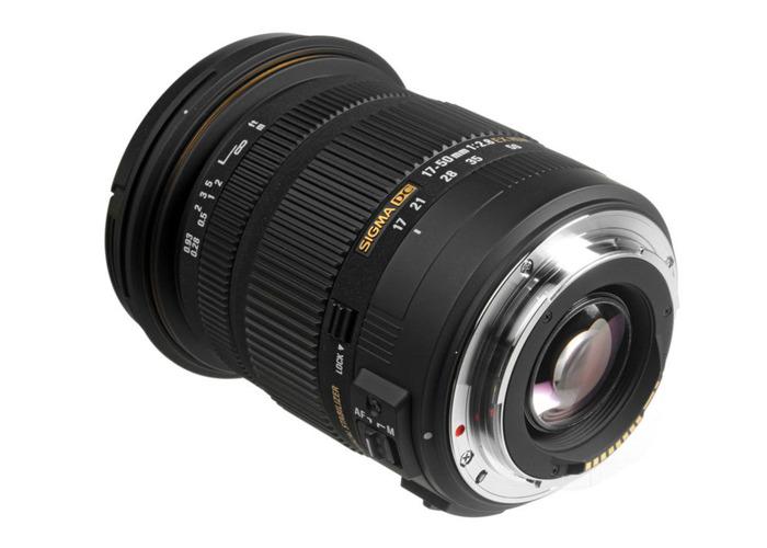 Sigma 17-50mm f/2.8 EX DC OS HSM Lens for Canon DSLR Cameras - 2