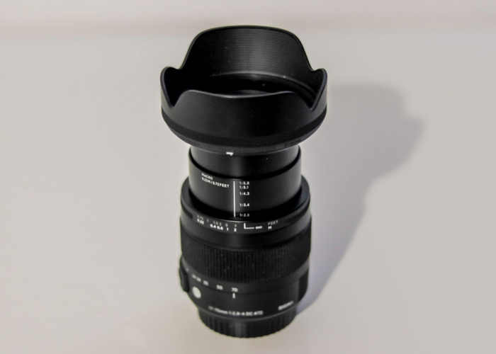 Sigma 17-70mm Zoom Lens F2.8 For Hire (Highbury Area) - 1