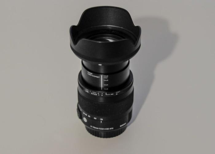 Sigma 17-70mm Zoom Lens F2.8 For Hire (Highbury Area) - 2