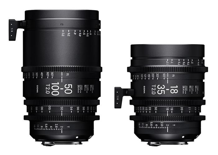 Sigma 18-35 & 50-100 Lens - PL Mount - 1
