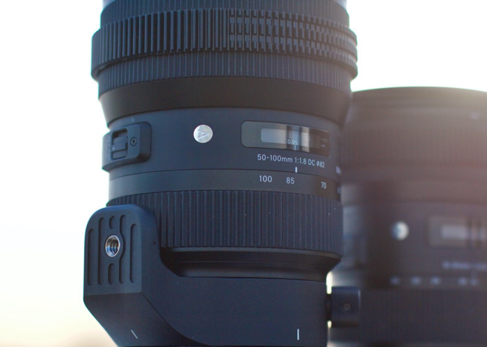 Sigma 18-35 and 50-100 f/1.8 EF Zoom Kit with ND Filter - 1