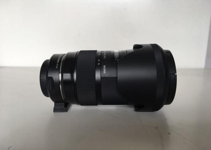 Sigma 18-35 f1.8 (Canon EF Mount) + Viltrox Speedbooster - 1
