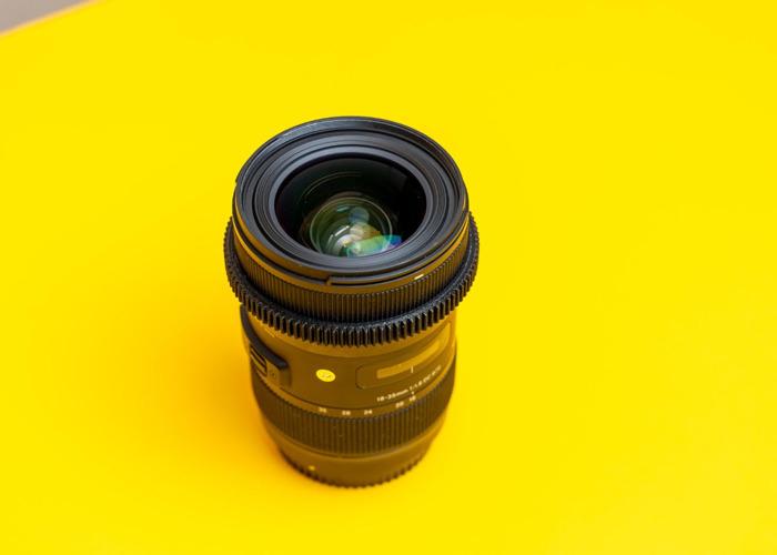 Sigma 18-35 F1.8 Canon EF Mount - 2