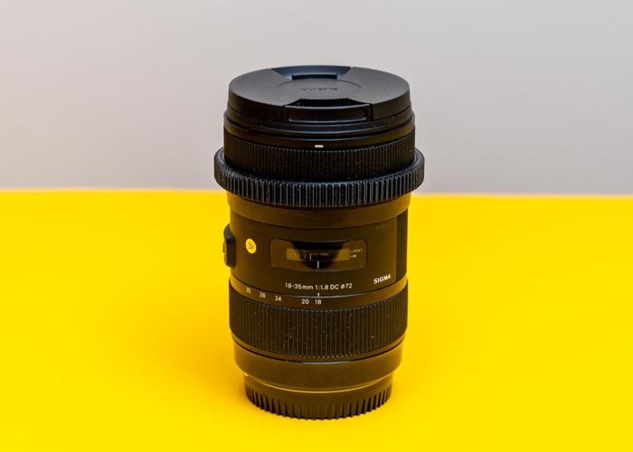 Sigma 18-35 F1.8 Canon EF Mount - 1