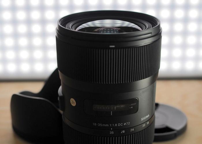 Sigma 18-35 f1.8 Canon E-Mount - 1