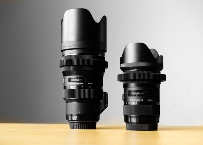Sigma 18-35mm + 50-100 f1.8 Art Zooms - 1