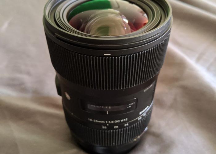 Sigma 18-35mm 1.8 Canon EF - 1