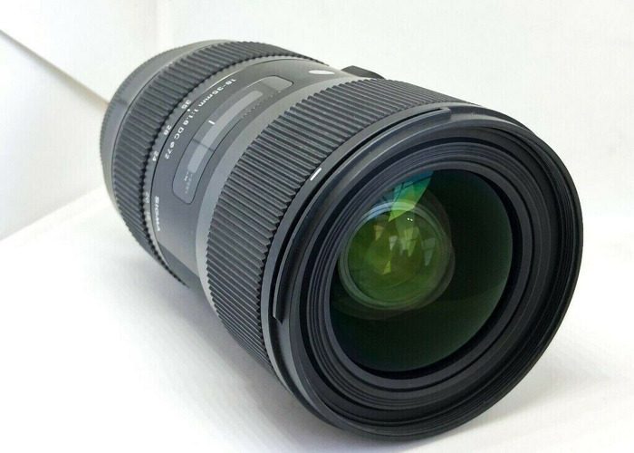 Sigma 18-35mm f/1.8 DC HSM Lens (Canon fit) - 1