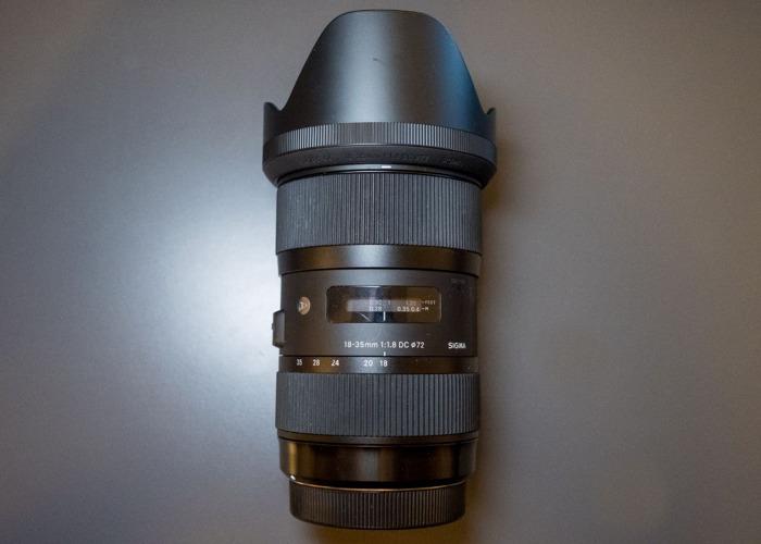 Sigma 18-35mm f/1.8 - Canon EF - 1