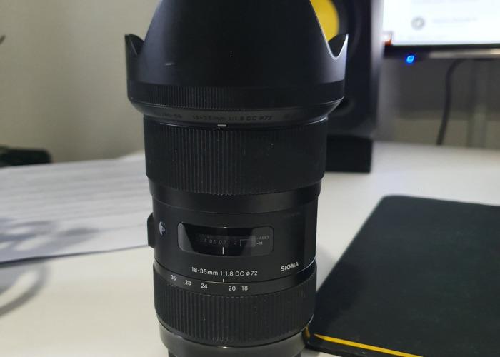 Sigma 18-35mm F1.8 Art Canon EF  - 1